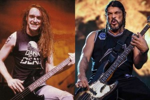 robert trujillo cliff burton bass playing style comparison