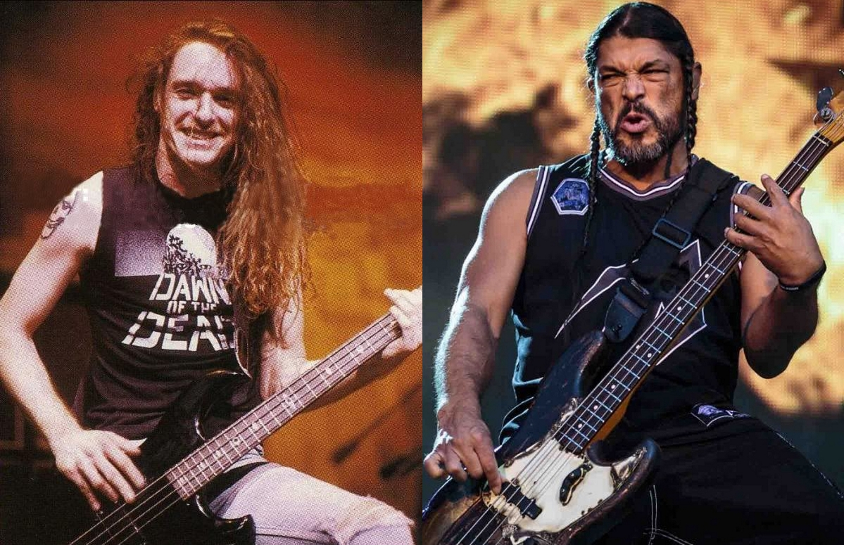 Robert Trujillo & Cliff Burton: bass playing style comparison