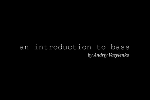an introduction to bass by andriy vasylenko free book