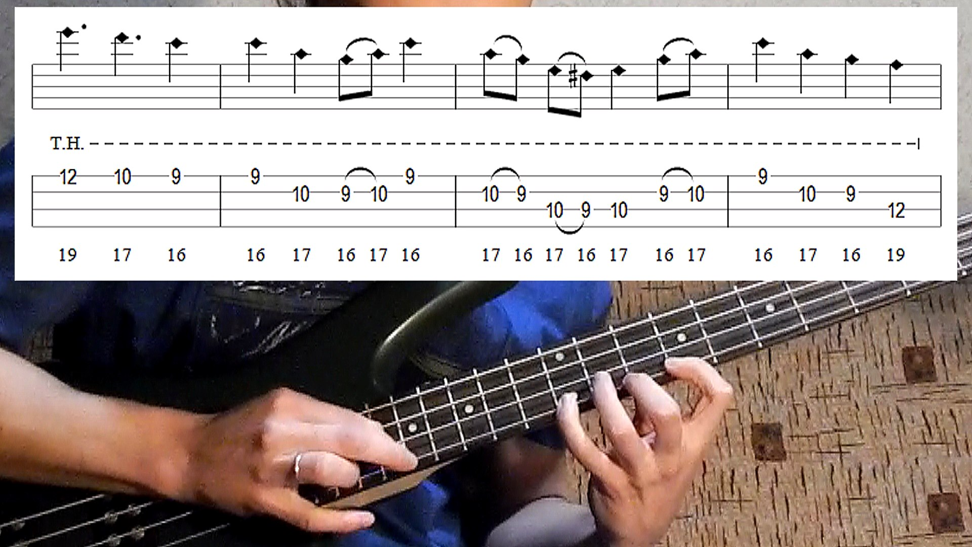 (Anesthesia) Pulling Teeth bass lesson + tab (1 of 3 – how to play OUTRO)
