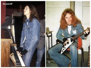 Cliff Burton practice bass piano guitar