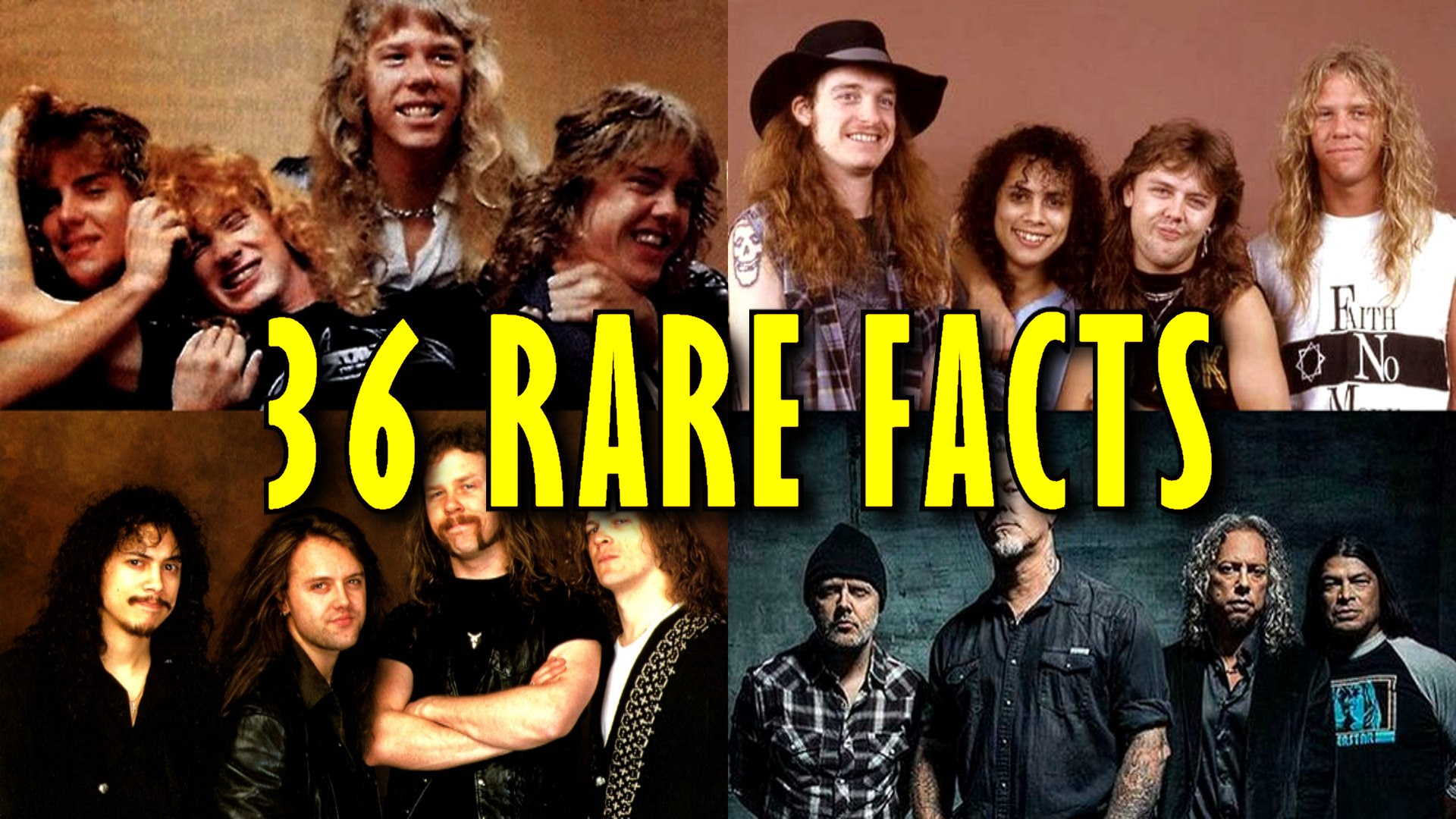 36 rare facts about Metallica Andriy Vasylenko