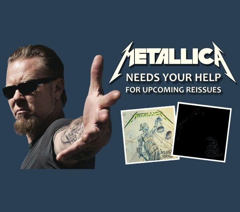 Contribute to 'AND JUSTICE FOR ALL' & 'THE BLACK ALBUM' reissues!