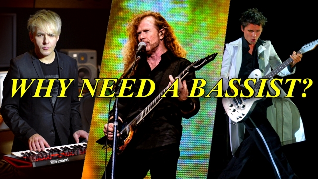 NEW TABS AVAILABLE: 10 iconic bass riffs NOT written by bassists